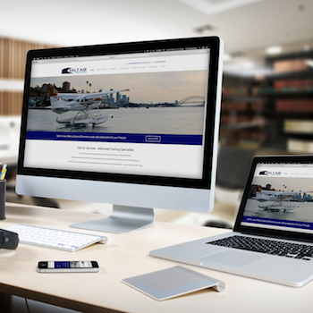 Salt Air Services website